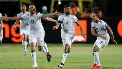 Course au Ballon d'Or Africain/Son sacre avec l'EN le place devant Mané et Salah : Mahrez, avantage manifeste !
