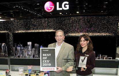 LG ELECTRONICS continue sur sa  lancée et rafale les meilleurs prix sur le plan mondial