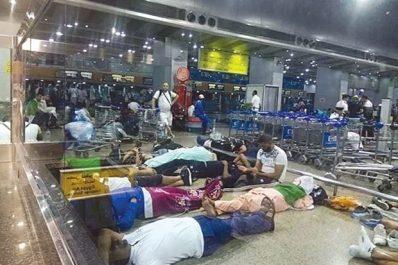À cause d'une organisation chaotique des vols retour : Le cauchemar des supporters algériens au Caire