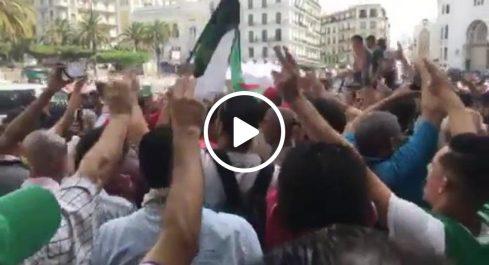 Début de la manifestation du 20e vendredi à Alger [vidéo]