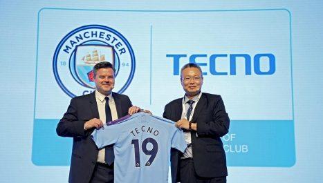 Renouvellement du partenariat entre Mancester City et Tecno Mobile