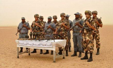 Une cache d'armes et de munitions découverte à Tamanrasset (MDN)