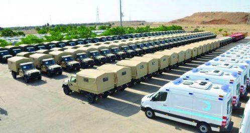 Industrie automobile de l'ANP : livraison de 485 véhicules multifonctions