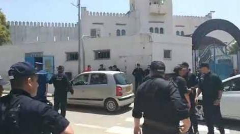 Les manifestants arrêtés devant la prison d'El Harrach ont été libérés