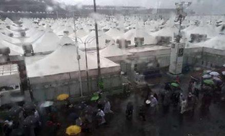 Arabie Saoudite: de fortes averses enregistrées à Mina