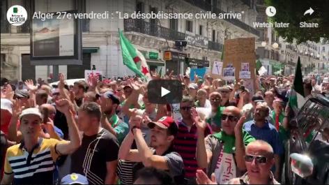 Les manifestants annoncent que «la désobéissance civile arrive»