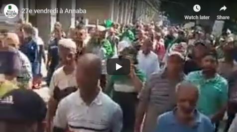 La grandiose marche contre le système a fait trembler Annaba