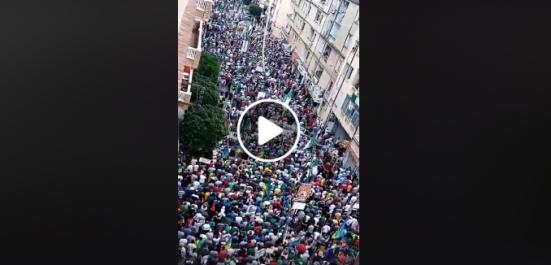 Impressionnante manifestation à Béjaïa !