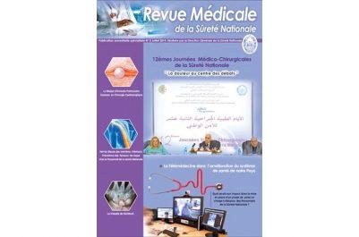 Le numéro zéro vient d'être publié : La Sûreté nationale lance une nouvelle revue médicale