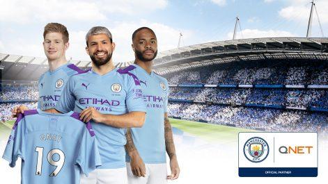 Manchester City étend son partenariat avec QNET
