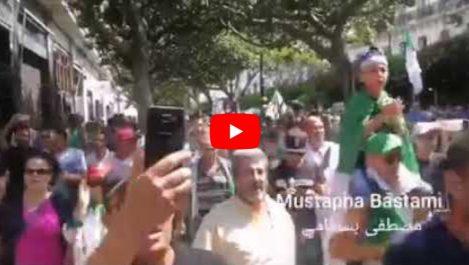 Début de la manifestation du 27e vendredi à Alger