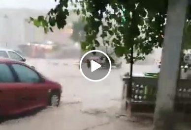 Des habitations inondées à Oum El Bouaghi [vidéo]