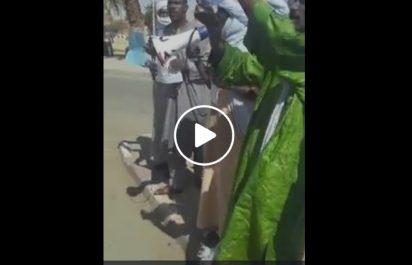Rassemblement de protestation à Tamanrasset contre la visite du ministre Bernaoui !