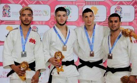 Jeux africains 2019 : la sélection algérienne de judo décroche neuf médailles dont deux en or