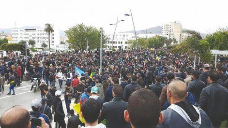 Un député chassé par des manifestants à Béjaïa