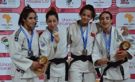Jeux africains-2019: le judo algérien termine en 3e position