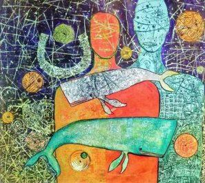 Galerie Le Paon de Riadh-El-Feth Une «Convergence» artistique de Mohamed Krour