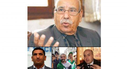 Bouchachi rend visite à Bouregaa et aux activistes Tabbou, Benlarbi et Boumala