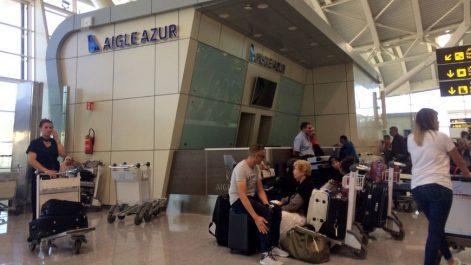 Faillite d'Aigle Azur: 11.000 passagers de et vers l'Algérie toujours bloqués