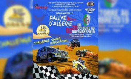 Sports mécaniques: AGEx de la FASM jeudi pour décider du sort du rallye d'Algérie-2019