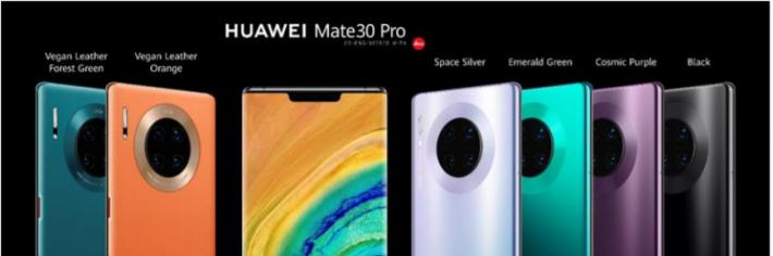 Huawei repense le Smartphone avec sa révolutionnaire série HUAWEI Mate 30