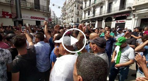 Les manifestants à Alger : «Organisez la présidentielle aux Emirats»