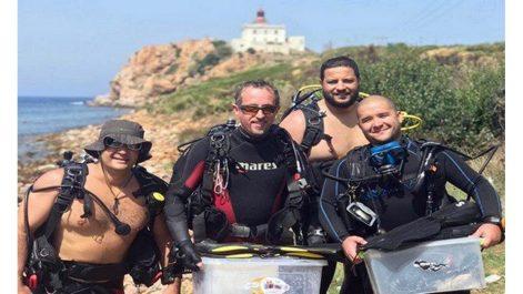 Ayad et Benzehra remportent le 1er prix du concours international de la meilleure photographie sous-marine