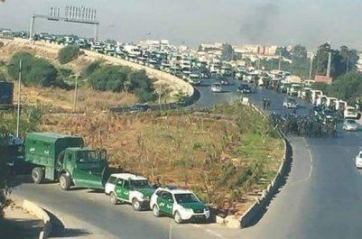 Amnesty International : Les autorités algériennes ne doivent pas bloquer l'accès des manifestants à Alger