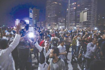 En dépit d'une féroce vague d'arrestations : Poursuite des rassemblements anti-Sissi en Égypte
