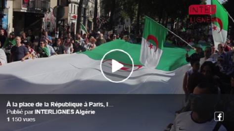 Paris : Les résidents algériens en France sont sortis, eux aussi, pour dire «non à la prochaine présidentielle».