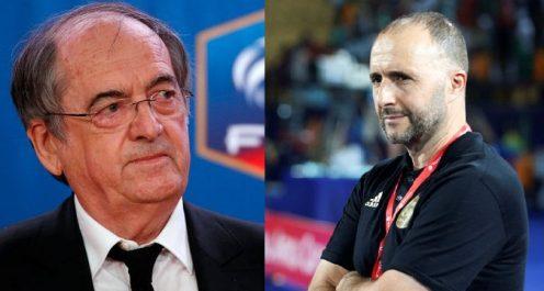 Match amical Algérie – France : Le président de la fédération française répond à Belmadi