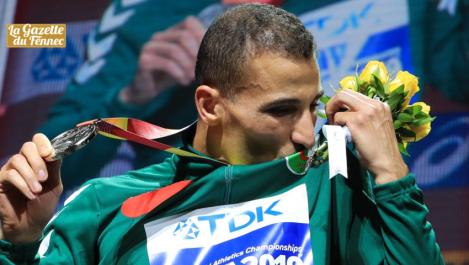 Vice-champion du monde du 1500m : Taoufik Makhloufi, porte-flambeau du sport algérien