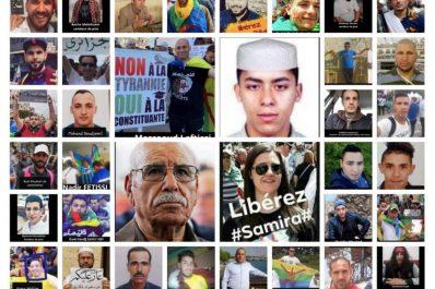 18 mois de prison requis contre cinq détenus du Hirak