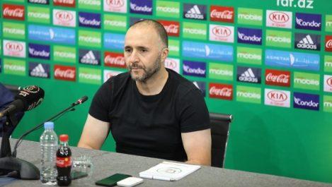 Djamel Belmadi : «J'attends beaucoup de mes joueurs»