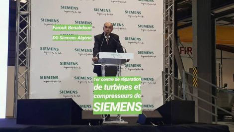 Siemens Algérie inaugure son premier centre de maintenance de turbines au Maghreb