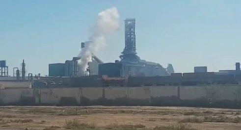 Vidéo | Deux morts dans une explosion au complexe Tosyali d'Oran