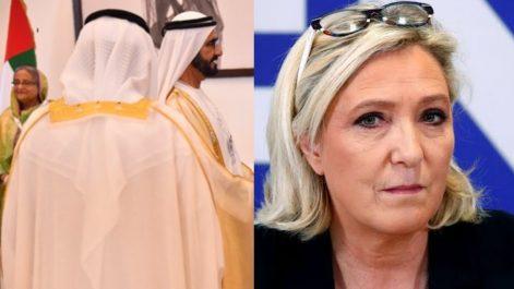 Comment les Émiratis ont sauvé… Marine Le Pen