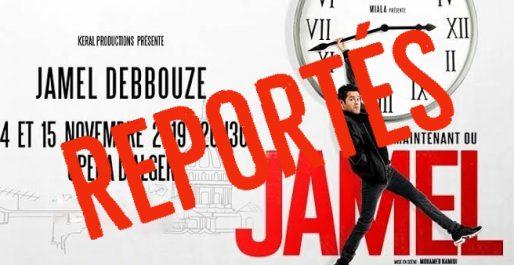 Les shows de Jamel Debbouze reportés