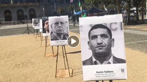 La diaspora algérienne rend hommage aux détenus du Hirak à San Francisco [vidéo]