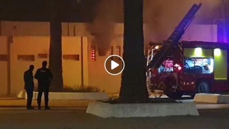 Un incendie s'est déclaré à l'aéroport d'Alger