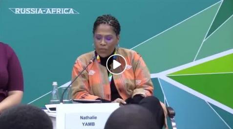 La Camerounaise Nathalie Yamb : «l'Afrique francophone est sous le contrôle de la France»