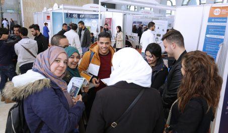 La 11ème édition du salon du lycéen et de l'étudiant Algérien «The GraduateFair» Sous le thèmede : «L'Activation du Cerveau Moyen !»