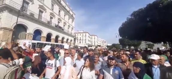 Vidéo : 35ème mardi de protestation à Alger