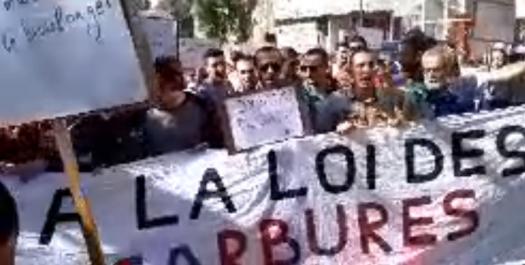 Vidéo : 35ème mardi de protestation à Tizi Ouzou