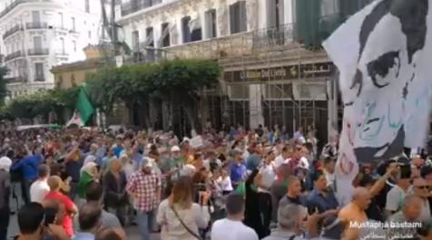 Vidéo – 35ème mardi de protestation à Alger : «le 1er novembre arrive»