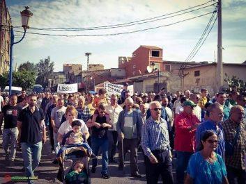 Ouzellaguen (Béjaïa) : Marche pour la libération des détenus