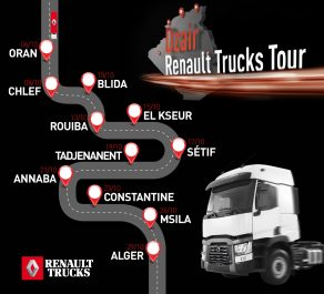 « DZAIR RENAULT TRUCKS TOUR » 2019 : à la rencontre des clients