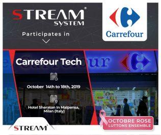 BOMARE COMPANY sous sa marque commerciale Stream System présente au Salon Carrefour Tech