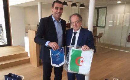 Match amical Algérie-France : Zetchi rencontre Le Graët