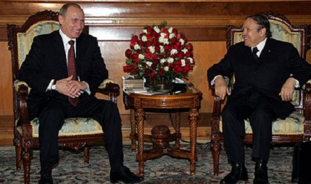 Poutine s'exprime sur la situation politique en Algérie !
